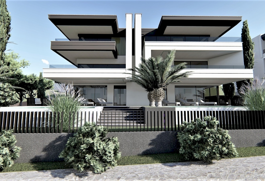 Modern apartments with sea view for sale - Opatija