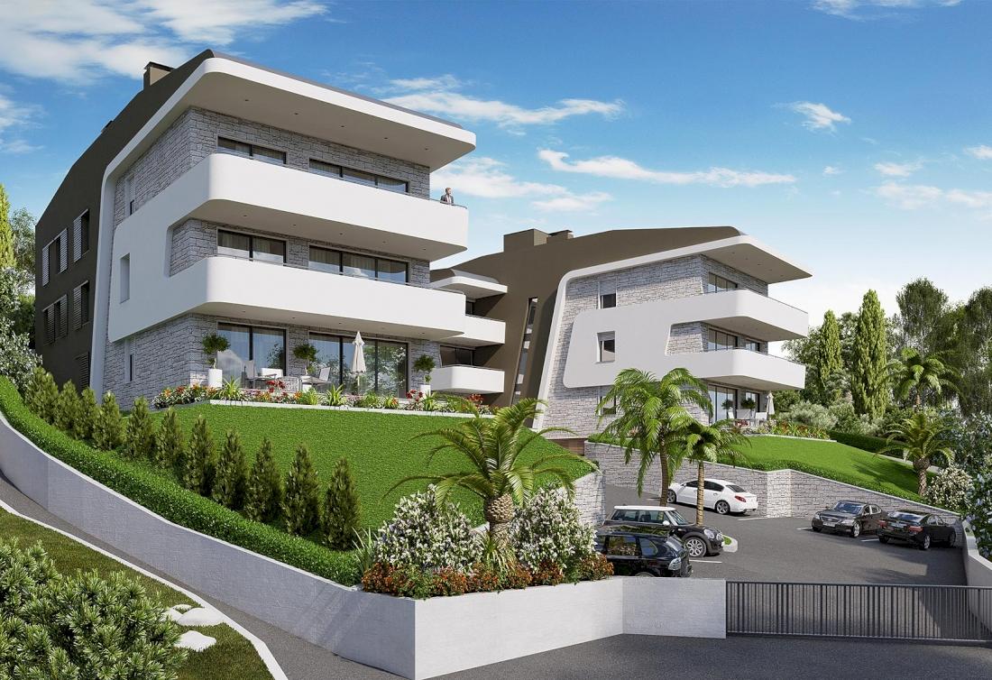Luxury newly built apartments - Opatija