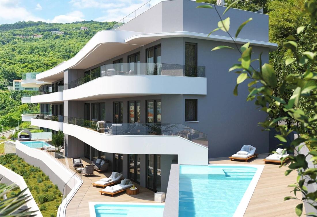 Luxury apartments with sea view - Opatija