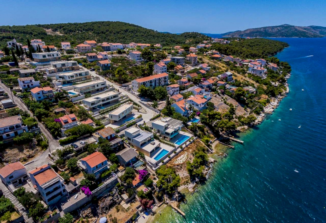Luxury resort in Dalmatia