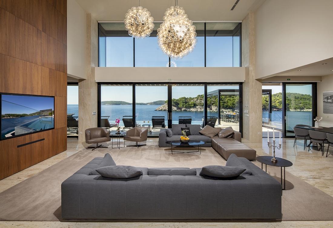 Magnificent private retreat on Dubrovnik Riviera