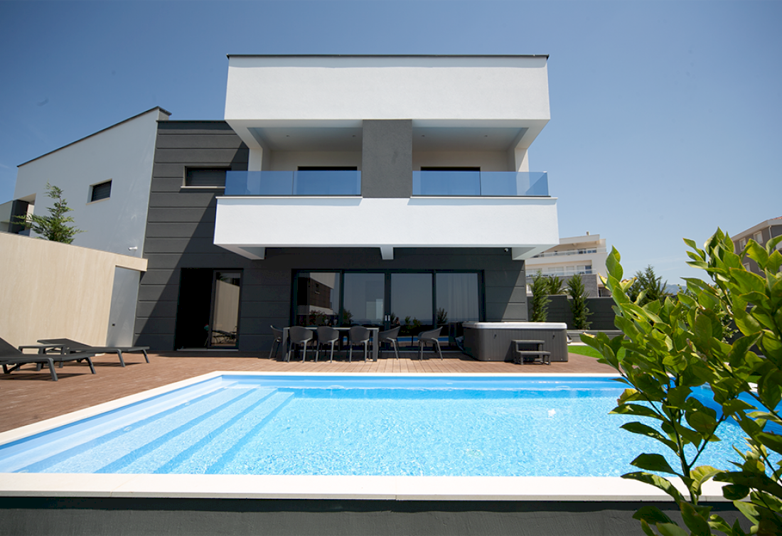 Modern villa on the Island of Pag