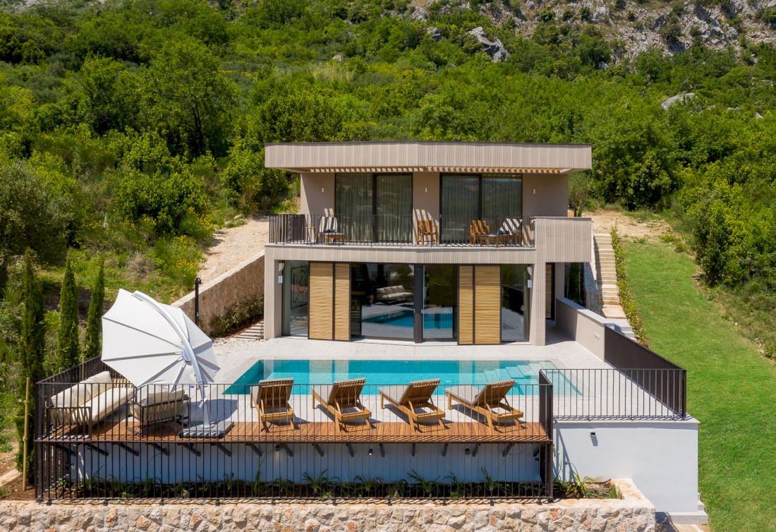 Dubrovnik Riviera - modern design villa near the sea