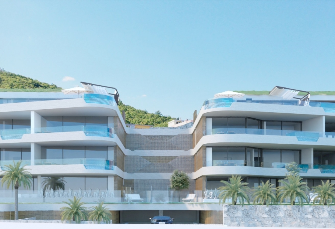 Land plot with a condominium project on Opatija Riviera